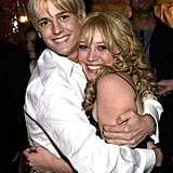 Hilary Duff and Aaron Carter