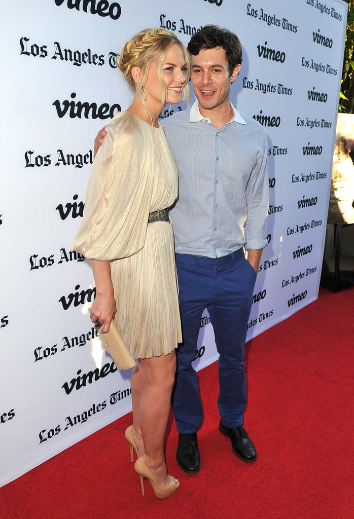 Adam Brody hit the red carpet with his costar Jennifer Morrison.