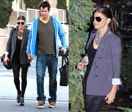 Josh Duhamel and Fergie Shop For a Christmas Tree in LA