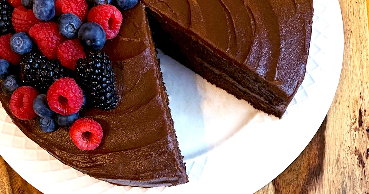 This Is the Most Decadent Chocolate Cake Recipe — You'll Never Guess It's Free From Added Sugar!