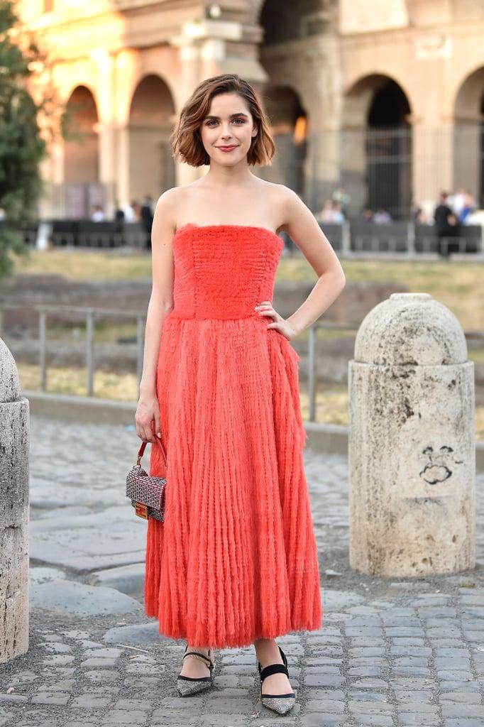 Shop Kiernan Shipka Red Reformation Dress — It's Under $100