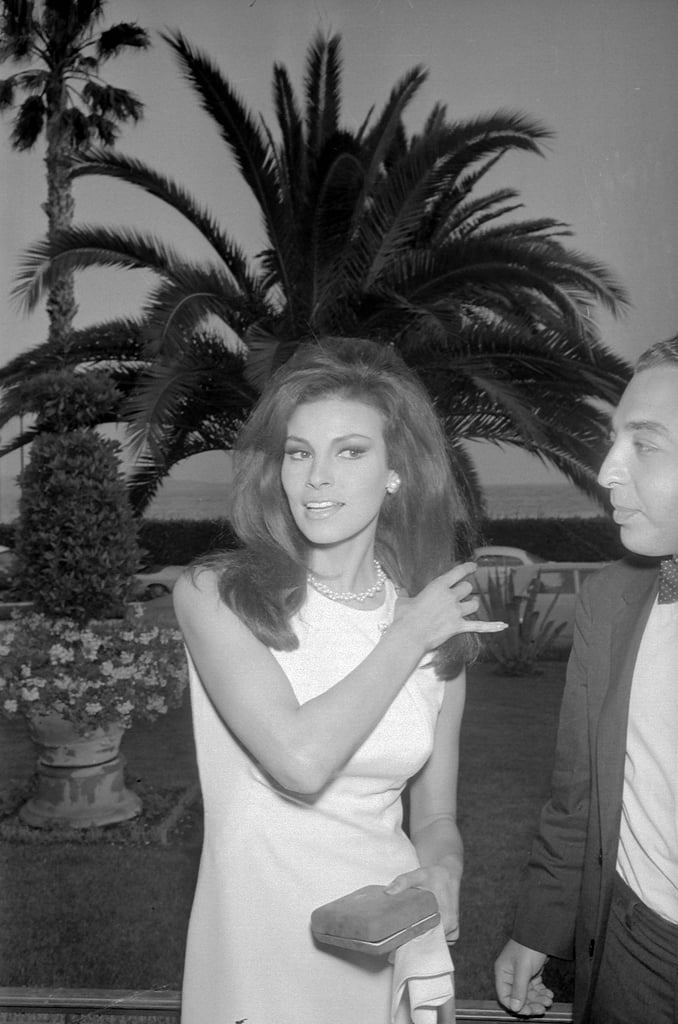 Raquel Welch brought her beauty to Cannes in 1966.