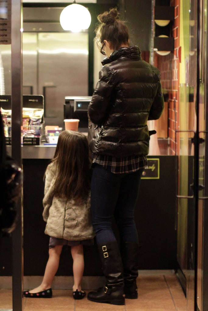 Katie and Suri Go North Again to Shop and Visit Tom in Canada