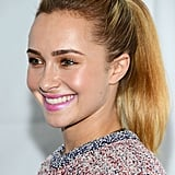 If your blowout is on its last leg, spritz roots with dry shampoo and pull hair up into a high ponytail, as seen on Hayden Panettiere during PaleyFest.