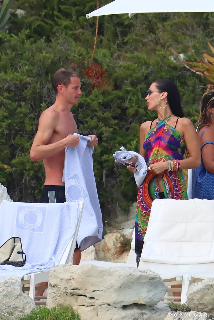 Bella Hadid's Black Bikini With Boyfriend Marc Kalman
