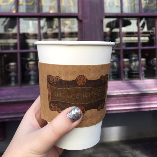 Hot Butterbeer at Harry Potter World Hollywood