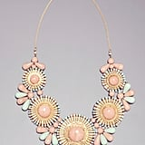 Bebe Tribal Gems Bib Necklace ($49)