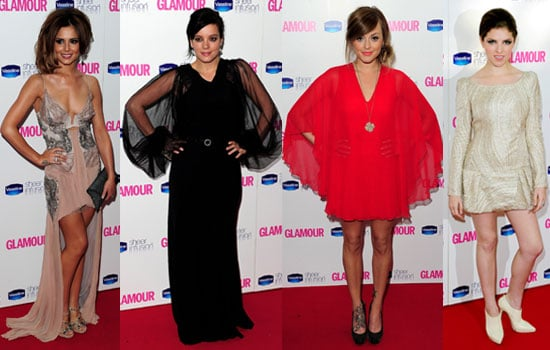 Pictures of Glamour Women of the Year Awards Cheryl Cole, Fearne Cotton, Lily Allen, Anna Kendrick, Zoe Saldana, Nicole Richie