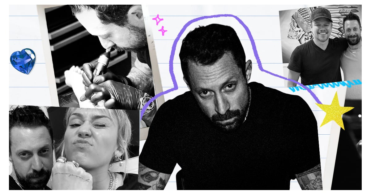 How Daniel Winter Went From a Self-Taught Tattoo Artist to a Go-To For Celebrities