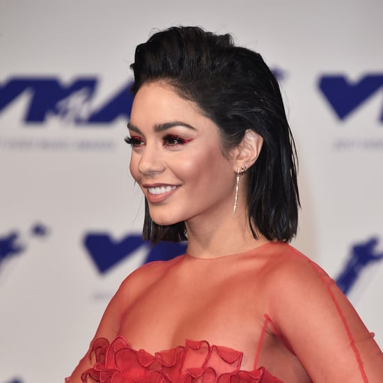 Vanessa Hudgens Hair and Makeup at the 2017 MTV VMAs
