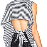 Tome FWRD Exclusive Striped Poplin Tie Back Top ($472.48)
