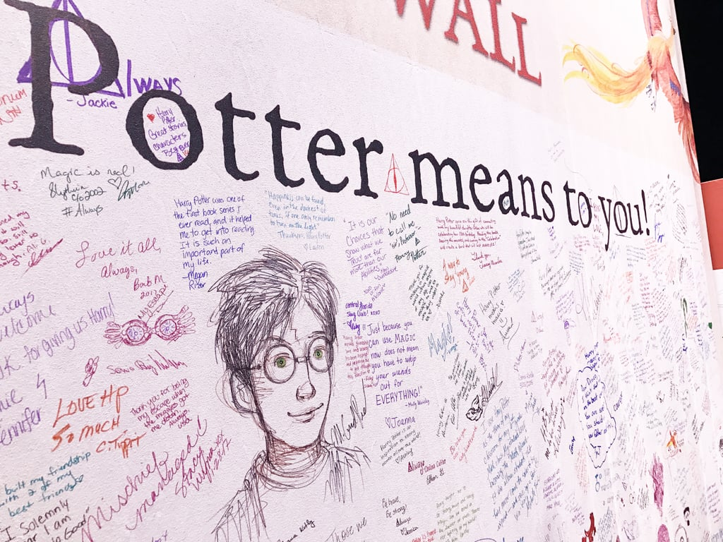 """Tell us what Harry Potter means to you . . ."""
