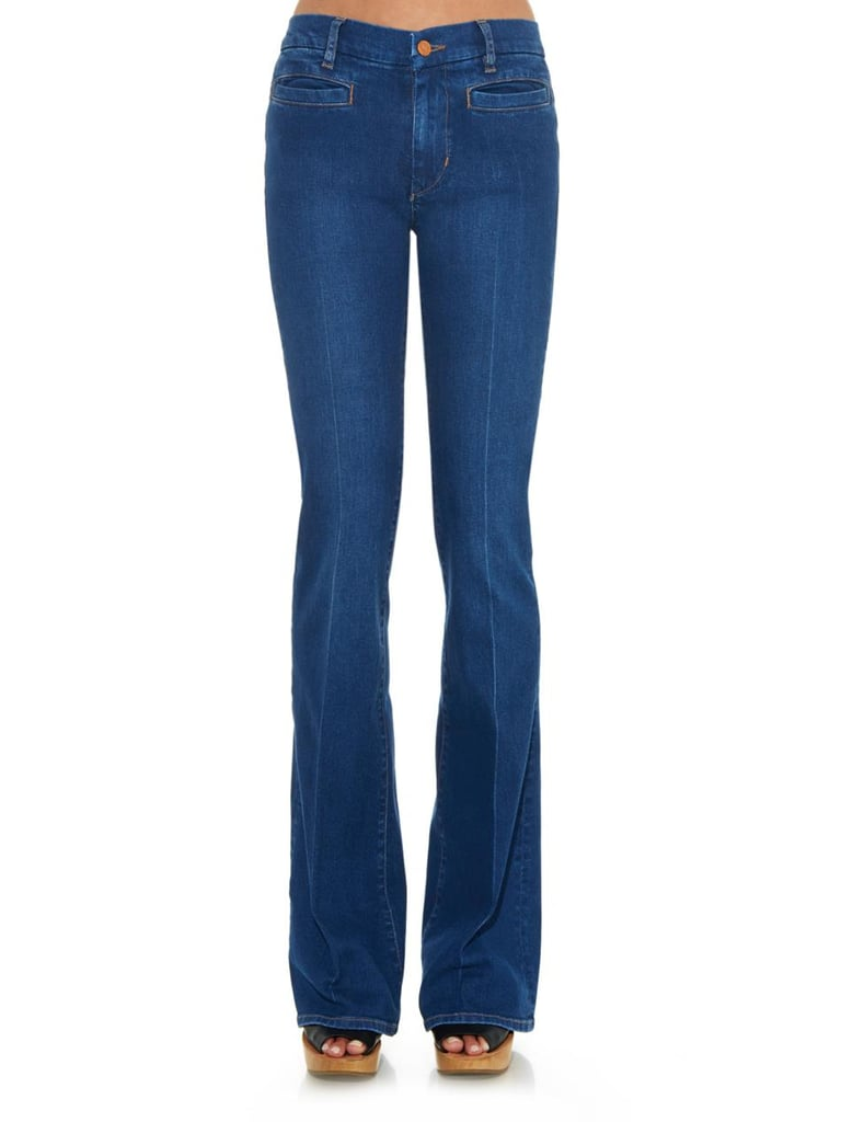 MIH Marrakesh High-Rise Kick-Flare Jeans,  $272