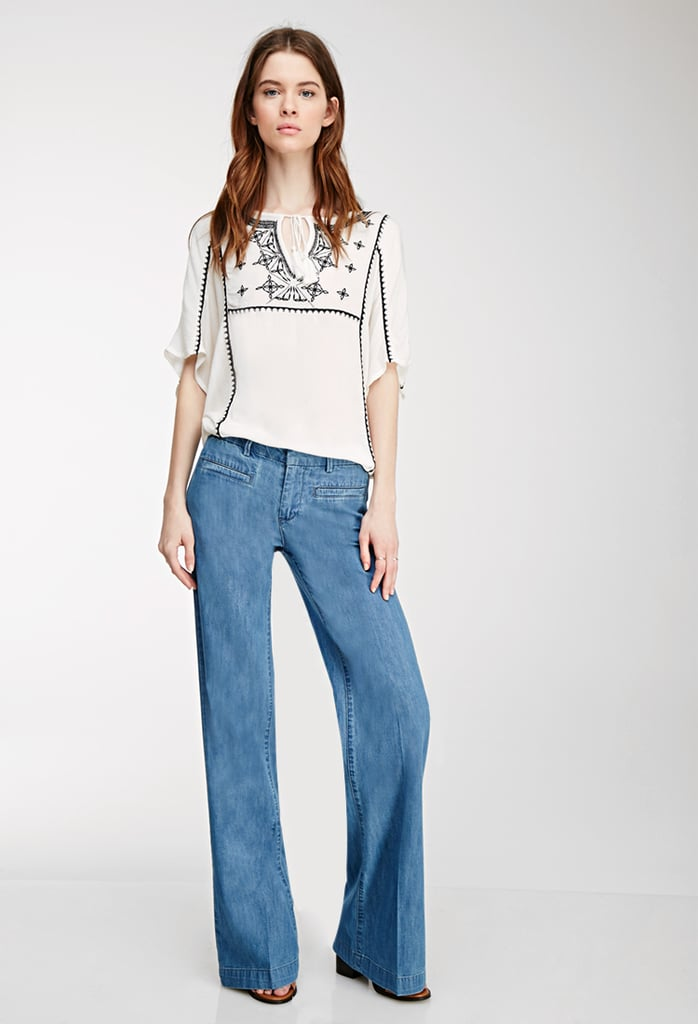 Forever 21 Wide-Leg Jeans ($25)