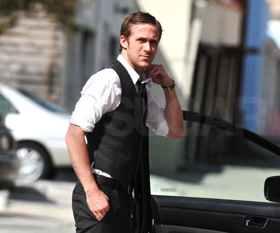 Photo of Ryan Gosling Out For a Meal in LA