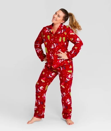 61678f3f3b Wondershop Holiday Santa Pajama Set | Pajama Gifts for Her ...