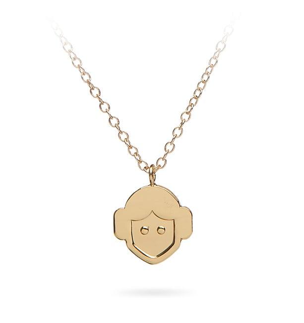 Princess Leia Emoji Necklace