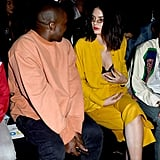 Kendall Let a Black Bra Peek Out From Under Her Yellow Look
