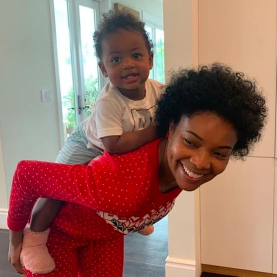 Gabrielle Union and Kaavia's Matching Natural Hair Photo