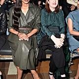 Ciara and Glenda Bailey