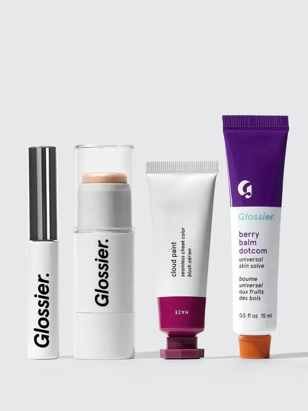 For the Minimalist: Glossier Makeup Set
