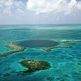 Scuba dive in the Great Blue Hole in Belize.