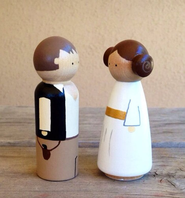 Hans and Leia Cake Topper