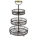Metal Wire 3 Tier Rack Display Stand