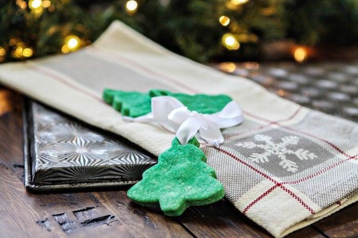 salt dough ornaments diy secret santa home gifts popsugar home