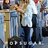 Lauren Conrad checked in at LAX.