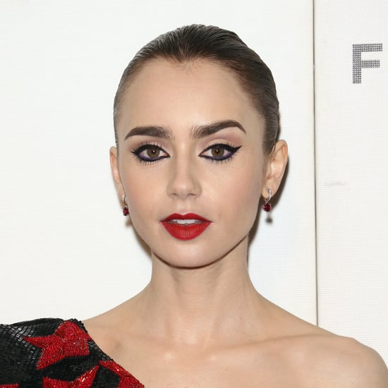 Lily Collins Without Makeup