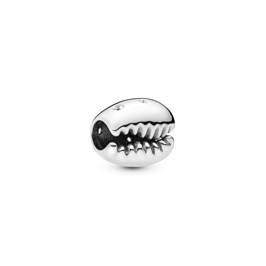 Pandora Sparkling Coffee Bean Shell Charm