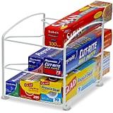 Simple Houseware Kitchen Wrap Organiser Rack