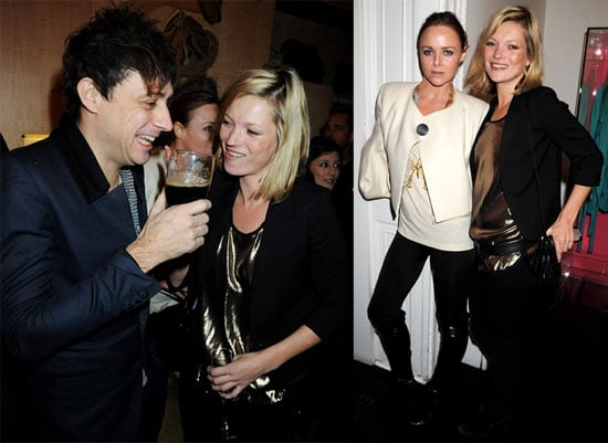 Photos of Kate Moss and Jamie Hince at Stella McCartney's Christmas Light Turning On Ceremony in London