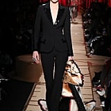 Kendall Brought It Back to the '60s With a Beehive Hairstyle and Black Pantsuit