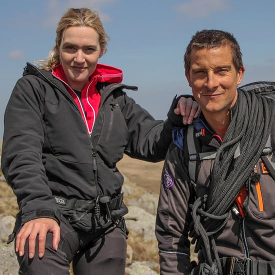 Kate Winslet Re-Creates Titanic Scene With Bear Grylls