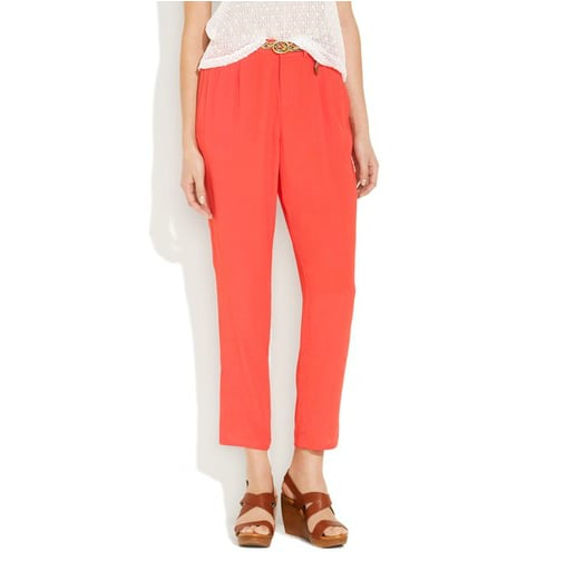 These rayon pants have trouser detailing and a loose, breezy fit. Madewell Typeset Trouser ($70, originally $98)