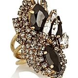 Erickson Beamon + Aerin Swarovski Crystal Cocktail Ring ($565)