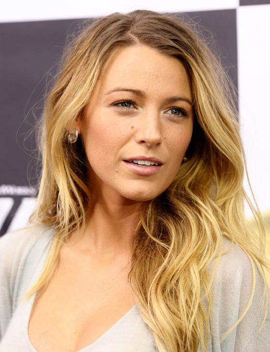 picture of blake lively ombre hair look popsugar beauty. Black Bedroom Furniture Sets. Home Design Ideas