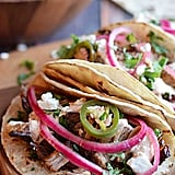 Crockpot Carnita Tacos With Chipotle Crema