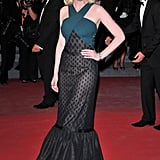Kirsten wore a mermaid-style dress from Rodarte to the 2011 Cannes Film Festival.