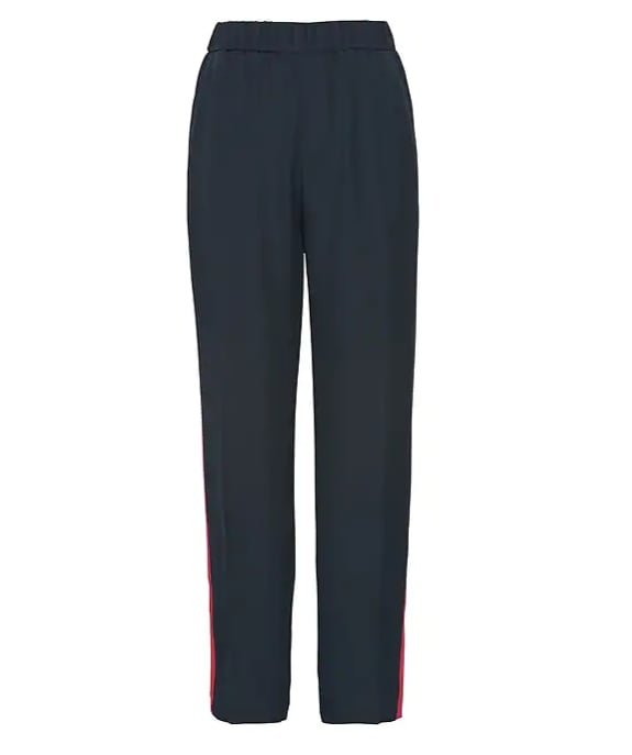Hayden Tapered-Fit Pull-On Side-Stripe Ankle Pant