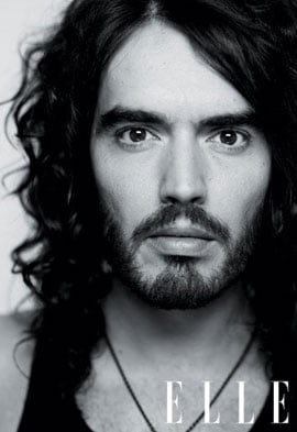 Arthur Star Russell Brand Dishes on His Past in Elle Magazine, Talking Alcoholism and Past Promiscuity