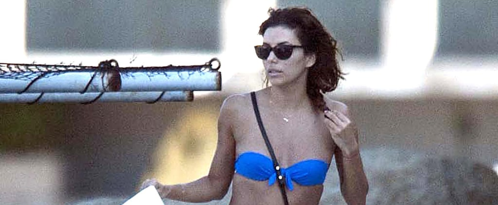 Eva Longoria's Teeny Bikini Leaves Little to the Imagination