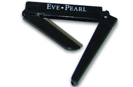Eve Pearl Tri-Fold Eyebrow Razor