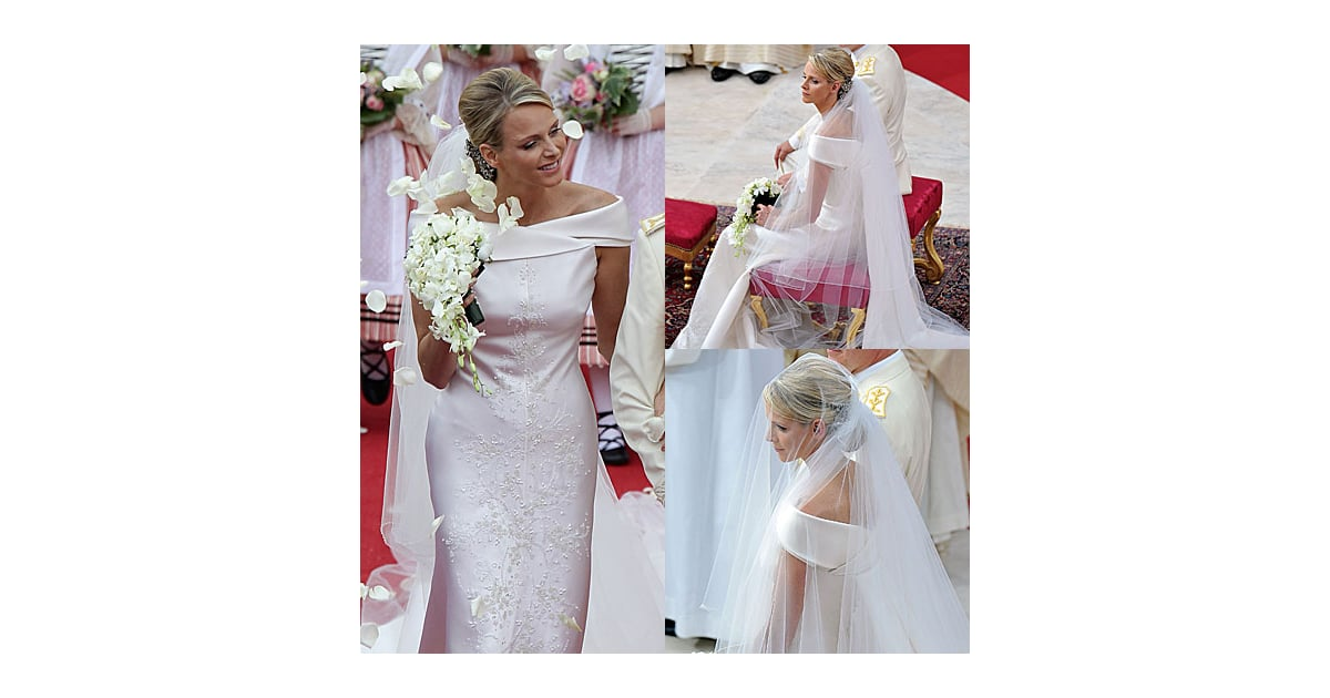 Pictures of Princess Charlene of Monaco Wedding Dress: See Her ...