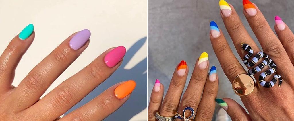 Rainbow Manicure Trend 2020 | Nails Photo Inspiration