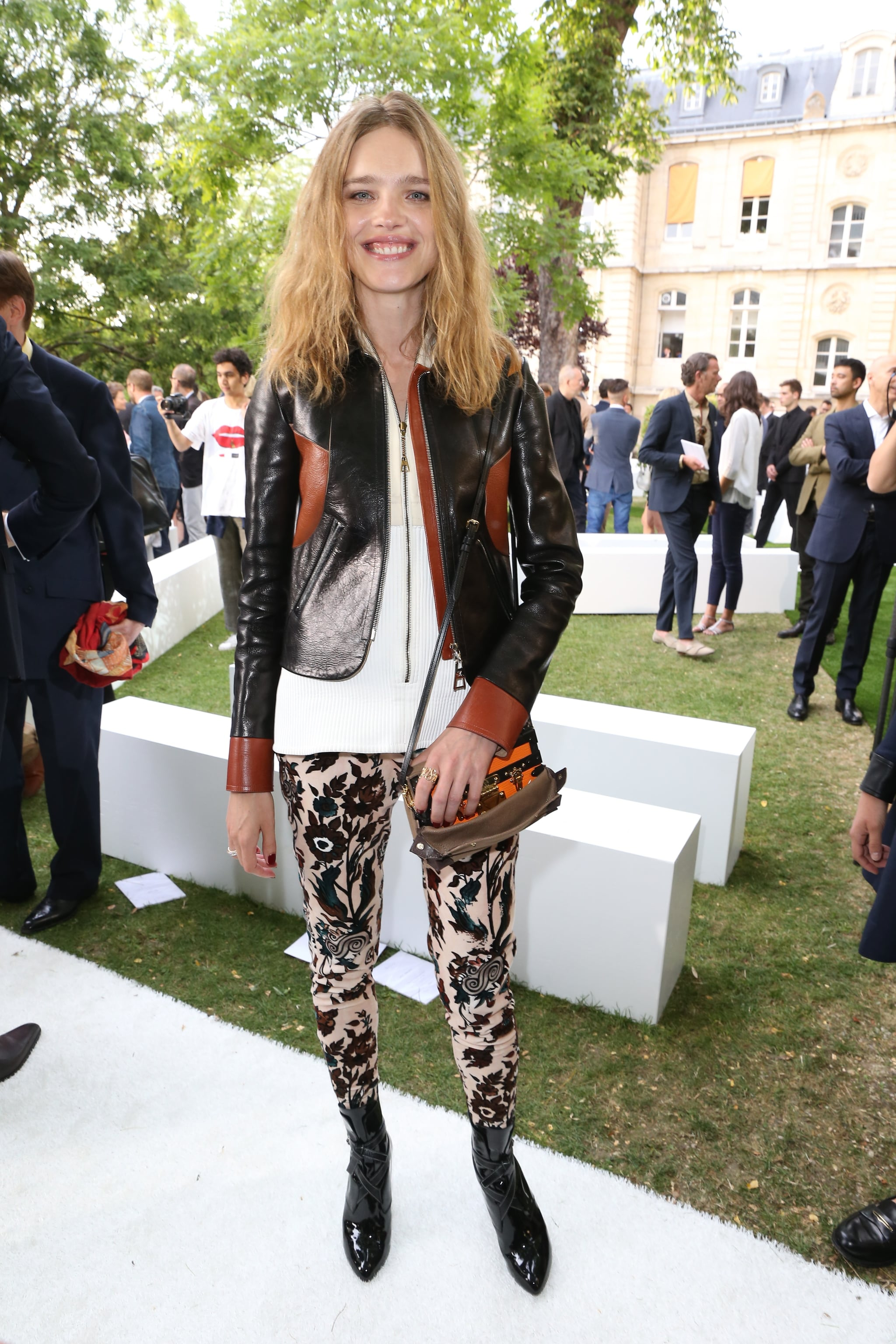 Natalia Vodianova Carrying Louis Vuitton