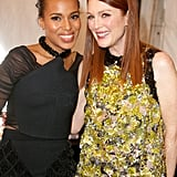 Kerry Washington and Julianne Moore