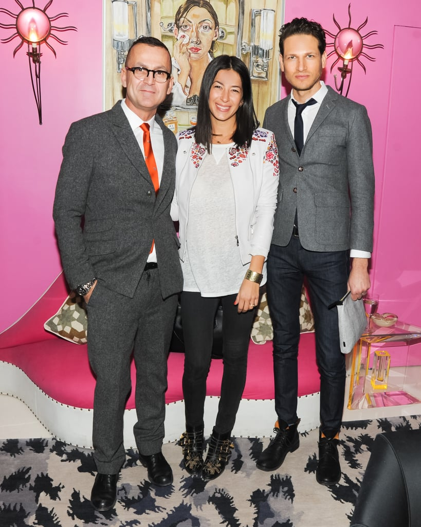 Steven Kolb, Rebecca Minkoff, and Uri Minkoff joined Diane von Furstenberg and the CFDA to welcome Marigay McKee, the new president of Saks Fifth Avenue.